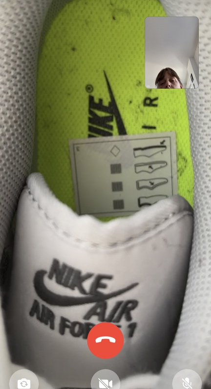 Original Nike air force one lx Electric Green  Kleidung & Accessoires 3