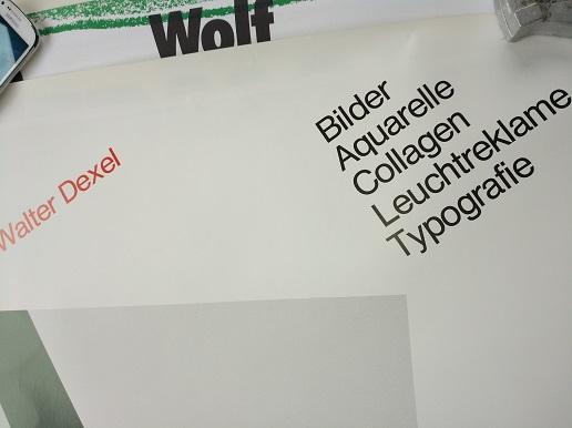 Plakat  1979 zeitgenössische Bauhaus Kunst  Dexel Top Antiquitaeten 2