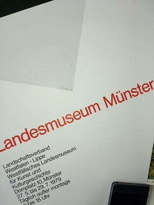 Plakat  1979 zeitgenössische Bauhaus Kunst  Dexel Top Antiquitaeten 3
