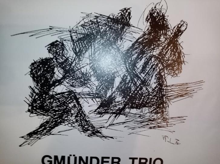 Plakat zeitgenössische Kunst 1987 in Heidenheim Sammeln 4