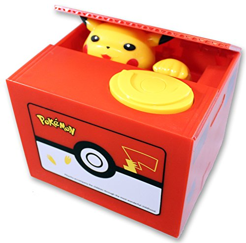 Pokémon Pikachu Sparkäsli Münz Sparschwein Spardose Box Geschenk Kind Kinder Fan Spielzeuge & Basteln