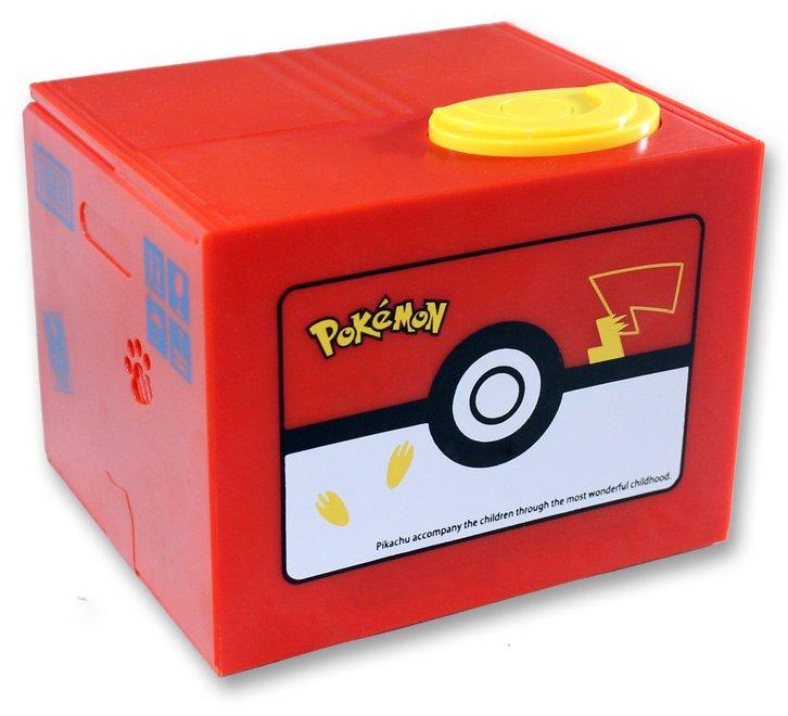 Pokémon Pikachu Sparkäsli Münz Sparschwein Spardose Box Geschenk Kind Kinder Fan Spielzeuge & Basteln 3