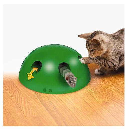 Pop' N Play Katzen Spielzeug Katzenspielzeug Indoor Zuhause Katze Feder Maus Spielzeug Unterhaltung TV Werbung Tiere 2