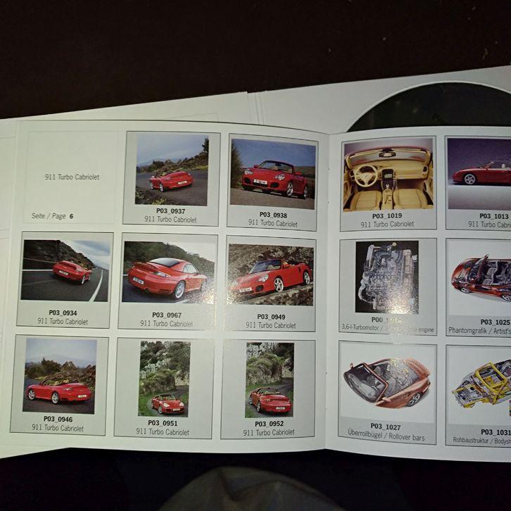 Presse Info Booklet 2004 Porsche 911 Turbo Cabriolet Sammeln