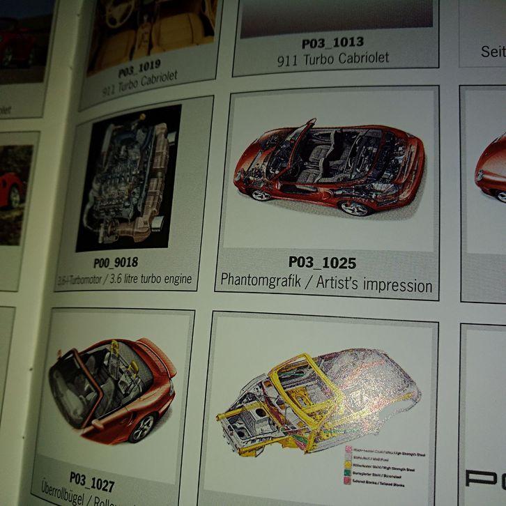 Presse Info Booklet 2004 Porsche 911 Turbo Cabriolet Sammeln 3