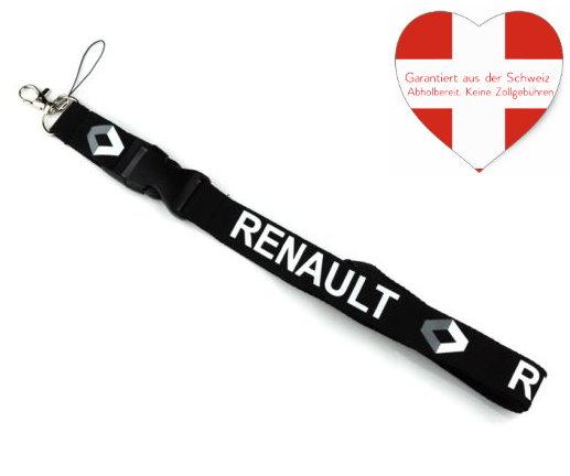 Renault Auto Schlüssel Anhänger Schlüsselanhänger Schlüsselband Fan Anhänger Fanshop Geschenk Sport & Outdoor