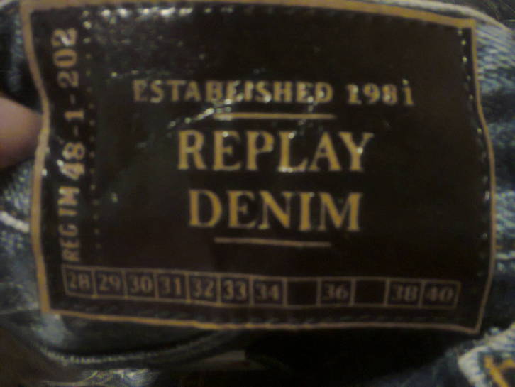 Replay Blue Jeans MFG.Co Gr.: 33/32 Kleidung & Accessoires 3