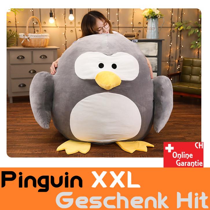 Riesen Pinguin Plüsch XXL grosses Kuscheltier Plüschtier Geschenk Kind Kinder Kinderzimmer Frau Freundin Süss Spielzeuge & Basteln