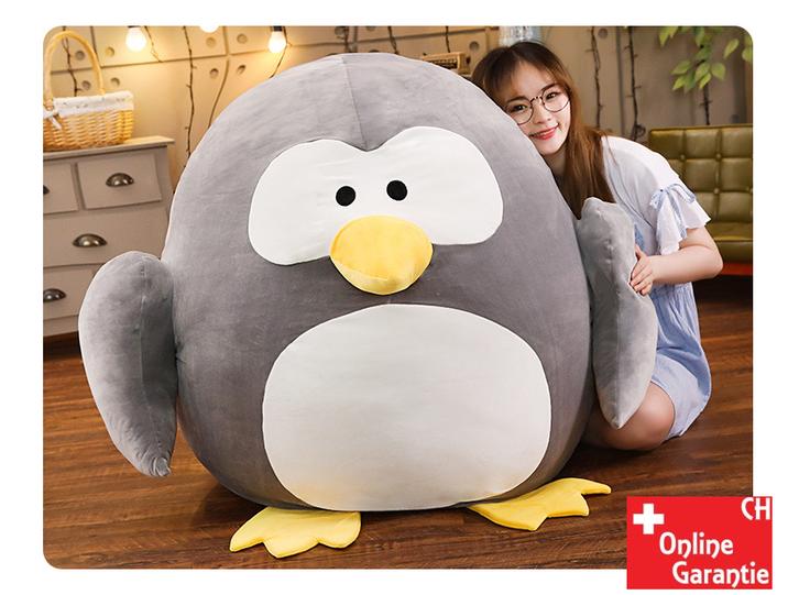 Riesen Pinguin Plüsch XXL grosses Kuscheltier Plüschtier Geschenk Kind Kinder Kinderzimmer Frau Freundin Süss Spielzeuge & Basteln 2