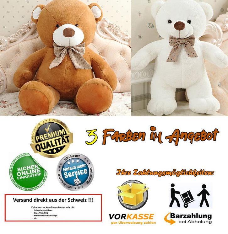 Riesen Teddybär Plüschbär Kuscheltier 3 Farben 210cm 2.1m gross Geschenk Kind Kinder Frau Freundin Baby & Kind 2