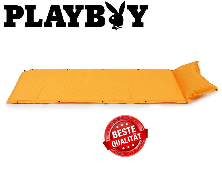 Selbstaufblasbare Playboy Physical Luftmatratze Luft Matratze Schlafsack Schlafmatte Camping Outdoor Festvial Hase Sport & Outdoor 2