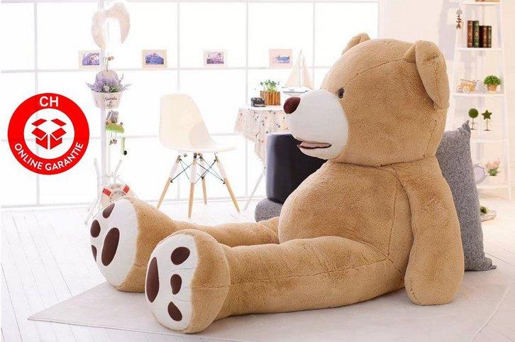 Teddy Teddybär Plüsch Bär Plüschtier XXL Plüschbär Tedi Ted Geschenk 3 Grössen XL XXL XXXL Kind Kinder Frau Freundin Gigantisch Schweiz Baby & Kind 2