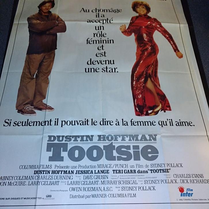 Tootsie 1982 Schweizer Groß Plakat Sammeln 3