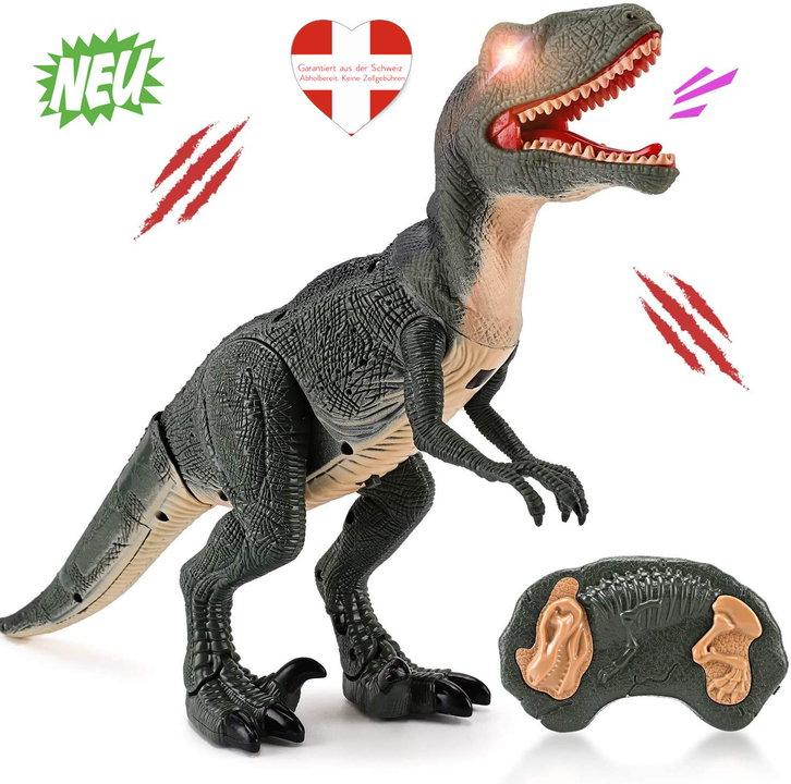 Velociraptor Dino Dinosaurier RC Spielzeug Fernbedienung Controller Spielzeug Raptor für Kind Kinder Geschenk Hit Baby & Kind