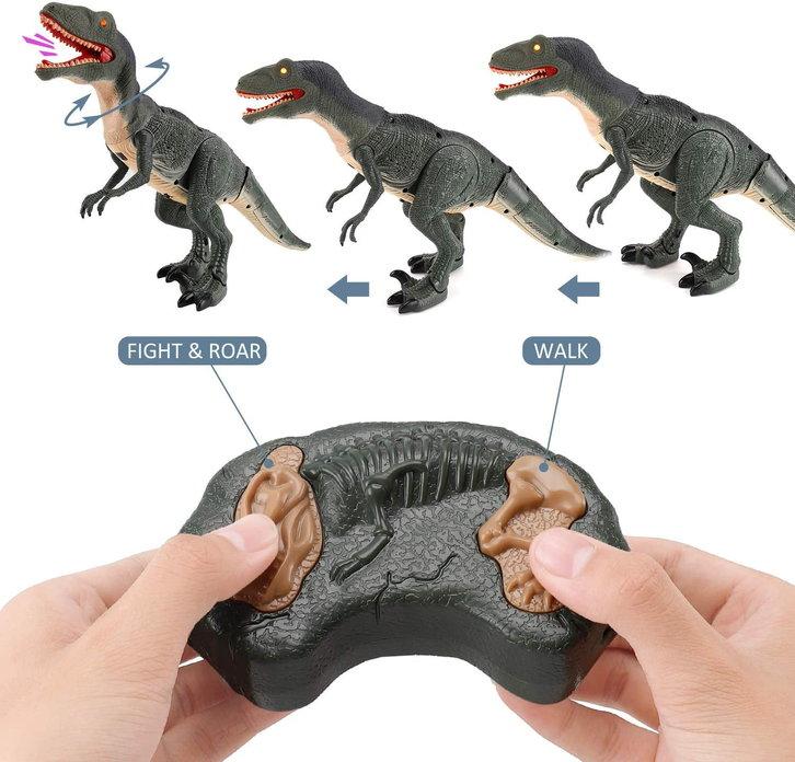 Velociraptor Dino Dinosaurier RC Spielzeug Fernbedienung Controller Spielzeug Raptor für Kind Kinder Geschenk Hit Baby & Kind 3