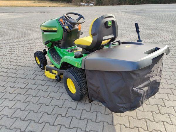 Verkaufe John Deere X350R Rasentraktor mit hydrostatischen Zweirad-Antrieb,  Garten & Handwerk