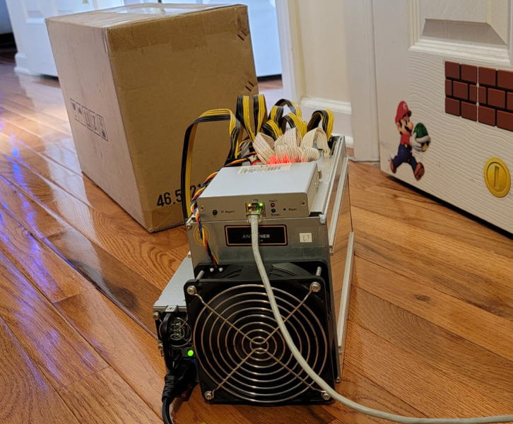 WTS: Bitmain Antminer S19 Pro 110 TH/s / Chat +14076302850 Computer & Zubehör 2