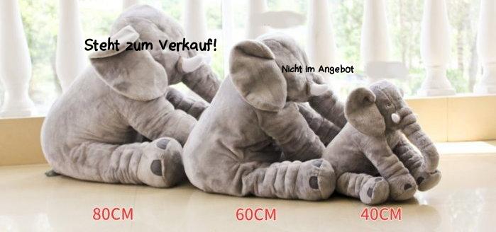 XXL Elefant Kuscheltier I 80cm Plüschtier Gross Geschenk für Baby Kinder Elefantenkissen Spielzeuge & Basteln 3