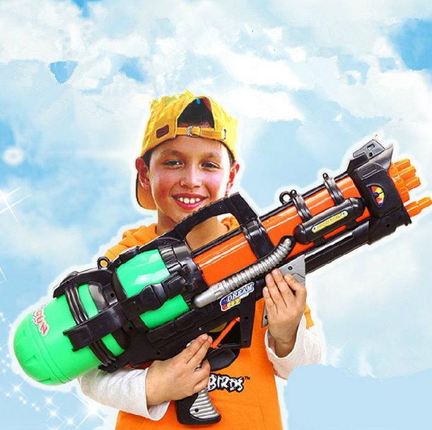 XXL Wasserpistole 60cm Wassergewehr Spritzpistole Watergun Spielzeug Kinder Sommer Openair Camping Wasserspielzeug Spielzeuge & Basteln 2