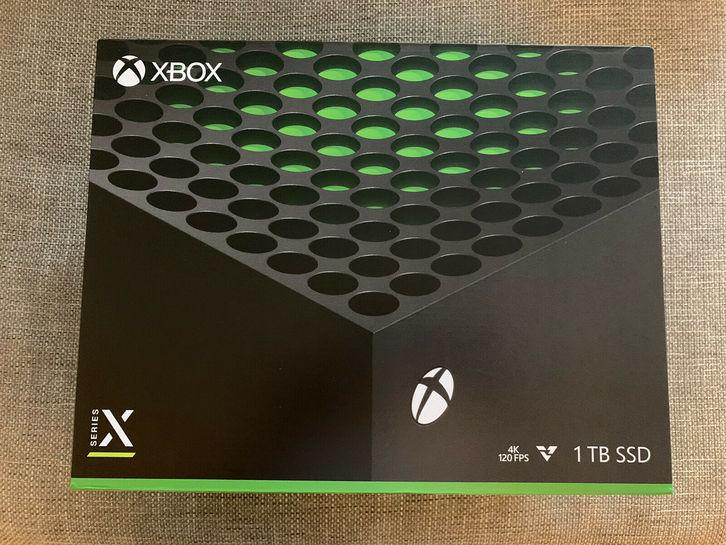 Xbox Series X 1TB Rechnung Neu Versiegelt Computer & Zubehör