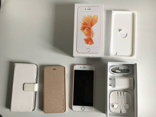 iPhone 6s 128 GB rosegold Telefon & Navigation 2