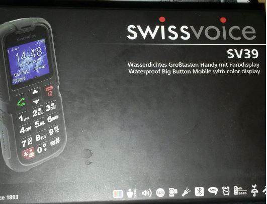 ist ein handy Swissvoice SV39 Telefon & Navigation 2