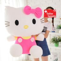 Hello Kitty Plüschtier Hellokitty Plüsch Kuschel Katze Geschenk Mädchen Pink Rosa 100cm 1M XXL Grösse