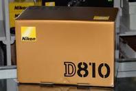 Nikon D810 36.3MP DSLR kamera