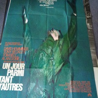 1968 schweizer Groß Plakat  Un jour parmi tant d'autres
