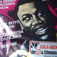 1971 Box Weltmeister Frazier Orginal Plakat Don Arden