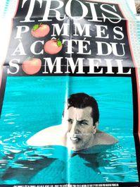 1989 Film Plakat Trois Pommes  Lessons of Life Canada