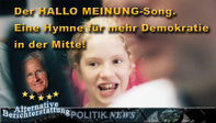 Alternative Berichterstattung NEWS HALLO MEINUNG Song