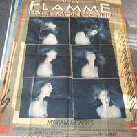 CH Arte Kunst Plakat Une Flamme dans mon Couer