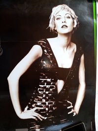 Conti goes Fashion  Continental Werbe Plakat A1 der 90er