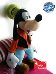 Disney Goofy Plüsch 75cm grosses Plüschtier Kuscheltier Puppe Geschenk Kind XXL