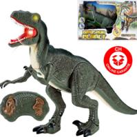 Ferngesteuerter Dinosaurier Velociraptor Spielzeug RC Dino Raptor Geschenk Kind Kinder