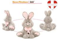 Grosser Plüsch Hase Plüschhase Häschen Bunny Geschenk Kinder Freundin 120cm XXL