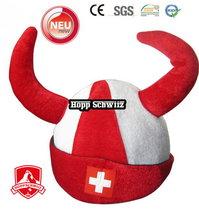 Hopp Schwiiz Schweiz Fan Accessoir Fanhut Hut Mütze Perücke WM Fussball Eishockey WM EM Allez la suisse! Switzerland Cap Zubehör Fanartikel