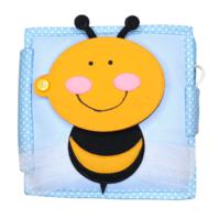 Kleine Biene - 6 Seiten Mini Quiet Book