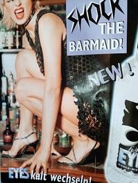 Orginal Plakat  Shock the barmaid