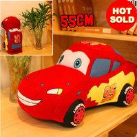 Original Disney Cars Lightning Mc Queen Plüsch Figur Auto Stofftier Plüschauto Geschenk Kind Junge Kinderzimmer