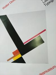 Plakat  1979 zeitgenössische Bauhaus Kunst  Dexel Top