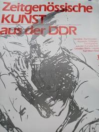 Plakat 1987 DDR zeitgenössische Maler im Westen