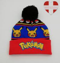 Pokemon Pokémon Pikachu Beanie Cap Mütze Kappe Winter Fan