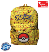 Pokémon GO Pikachu Kinder Kinderrucksack Rucksack Kindergarten Primar Schultasche Schulranzen für Kinder Kinderrucksack Kleinkinder