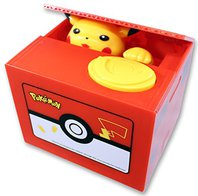 Pokémon Pikachu Sparkäsli Münz Sparschwein Spardose Box Geschenk Kind Kinder Fan