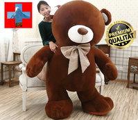 Riesen Teddybär Plüschbär Kuscheltier 3 Farben 210cm 2.1m gross Geschenk Kind Kinder Frau Freundin