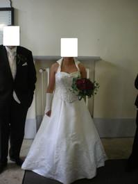 Romantisches Brautkleid