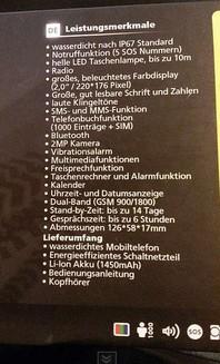 ist ein handy Swissvoice SV39